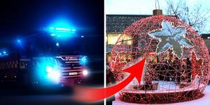 OBS! Fotot är en arkivbild och en illustration över en del av den julbelysning som finns på Våghustorget.