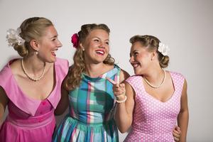 Hebbe Sisters har gjort sig kända för sin sångglädje, tonsäkerhet och energi. Foto: Christer Lönnroth