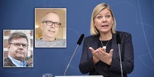 Magdalena Andersson (S) ger sin syn på skatteplaneringen i Söderhamns kommunala bolag.