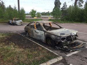 Bildbrand på Norslund i Falun, natten till onsdagen den 31 maj i år.