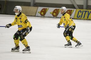 Magnus Fryklund och Ilari Moisala.