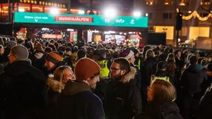 Bild från förra årets Musikhjälpen i Lund. Foto: Mattias Ahlm/Sveriges Radio