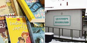 Det händer mycket på bygdegården i Ljustorp och går allting som planerat blir det snart ett bibliotek där också.
