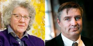 Pia Aronsson (V) och Lars Isaksson för gärna äldres