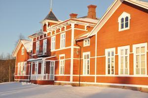 Gisselgårds skola fick för en stund vara länets kulturcentrum. Foto: Malin Olsson