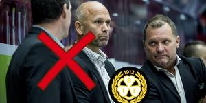 Tommy Sjödin och Janne Larsson får sparken. Istället tar Magnus Sundquist över huvudansvaret. Bild: Bildbyrån.