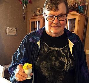 Den här bilden på årets första tussilagon i Näset har vi fått av Ruth Johansson.Foto: Privat
