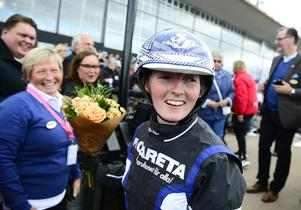 Sofia Frilén körde storskrällen Captain Knas till seger.