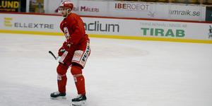 Sebastian Collberg leder Timrås interna poängliga tillsammans med Anton Wedin.