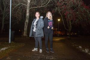 Emilia Von Walden från Skinnskatteberg och Emilia Jurewicz från Västerås driver företaget Keep Safe UF tillsammans.