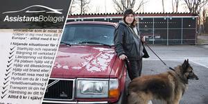 Assistansbolaget lovar i sin marknadsföring att hjälpen alltid finns nära. Men när Maria Johanssons i Skutskär fick stopp på bilen en sen kväll på hemväg från veterinären fick hon kalla handen.