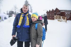 Tomas och Helen Carlsson från Linköping förstod inte alls folk som pratade om ett