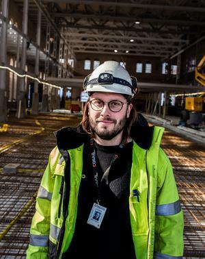 Martin Johanssons drömprojekt är att vara med och bygga en bro i framtiden.