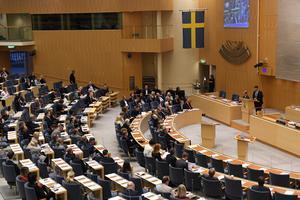 Är det för lätt för riksdagen att ändra grundlagen?Foto: Fredrik Sandberg/TT