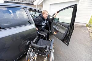 2017  fick funktionsnedsatta i länet bilstöd tillsammans för runt åtta miljoner.Foto: Gorm Kallestad / NTB scanpix / TT