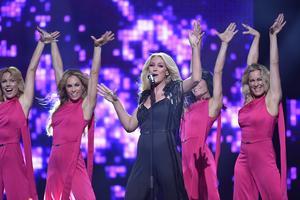 Jessica Andersson, som tävlade i årets Melodifestival med låten