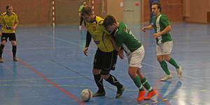 Rialas Daniel Bengtsberg gjorde mål igen – sin vana trogen.