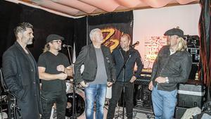 Magnus Perols, Pelle Eriksson, Göran Mattsson, Reine Hampus, och Mathias