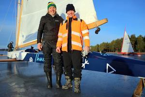Ants Haavel och gasten Andres Laul, Estland är ett av flera lag från Estland, som tävlar i Monotype.