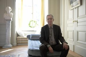 Anders Olsson, Svenska Akademiens tillfällige ständige sekreterare.Foto: Janerik Henriksson / TT