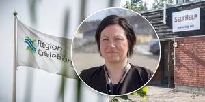 Ann-Sofie Åhs Bodin, områdeschef för Beroendemottagningarna i Region Gävleborg.