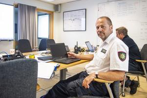 Tomas Öhrn, Räddningschef i Medelpad.