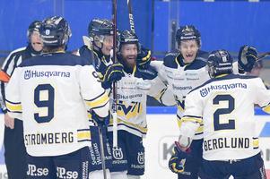 HV71 har fått fira mot Växjö i samtliga matcher hittills den här säsongen.