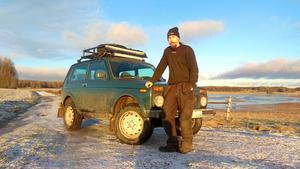 Peter Yngvesson i Gustafs får inte ha BLIN som personlig skylt på sin ryska bil.