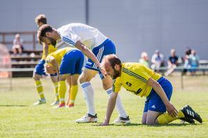 Arnäs fick Lillhärdal på fall i helgens match på Solberga. Arkivbild.