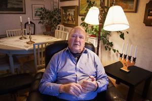 Hilding Sjöblom om julafton -69, när livet tog en dramatisk vändning.