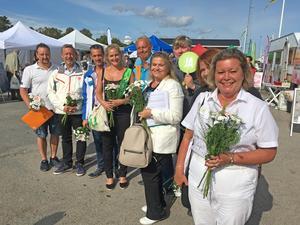 Donald Löfving (SD), Patrik Isestad (S), Daniel Adborn (L), Emma Solander (MP), Harry Bouveng (M), Antonella Pirrone (KD)Bernt Månsson (MP), Miriam Malm (V) och Lena Dafgård (SN) deltog i Nynäshamns Stadskärneförenings utfrågning inför lokalvalet.