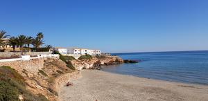 Stranden vid La Zenia.