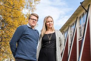 Martin Johansson och Kristina Ernehed, JKK.