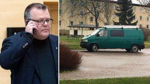 Kammaråklagare Carl-Johan Norström är förundersökningsledare i mordärendet i Hallstahammar. Foto: Rune Jensen och Mikaela Lundblad