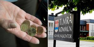 I Medelpad har Timrå  de dystraste jämförelsesiffrorna när det gäller mäns och kvinnors pensioner. Bilder: Foto: Henrik Montgomery/TT och Lars Windh.