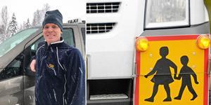 Klas Magnusson i Åkersjön är ordförande för Taxi Glesbygd, bolaget som Krokoms nio taxiföretagare äger gemensamt.