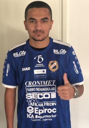 Irat Younis ansluter från Avesta AIK. Foto: Privat.