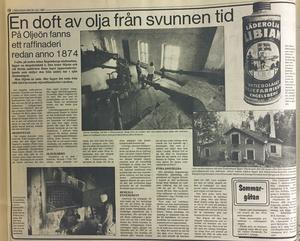 Ur VLT 25 juli 1987.