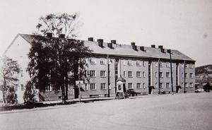 Kvarteret Abborren 1930-tal.