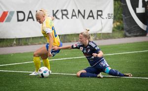 Lovisa Lennartsson stod för KIK:s 3-1-mål.