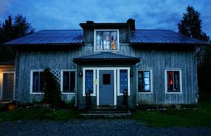 Borgvattnets gamla spökprästgård i Jämtland. Bild: Henrik Flygare