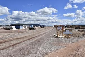 Sälens nya flygplats växer nu fram i Rörbäcksnäs för att öppnas till julen 2019.