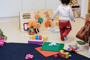 Förskolan lämnar Blåbärsvägen. Flytten börjar redan nästa vecka. (Arkivbild).