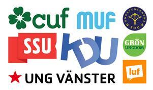 Ungas intresse att gå engagera sig partipolitiskt – exempelvis genom att gå med i något av riksdagspartiernas ungdomsförbund – minskar.