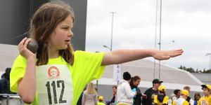GD-GIF-olympiaden drog i gång med tävlingar i bland annat kulstötning på lördagen.