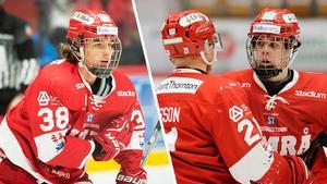 Olofsson och Hållander gick som 56:a och 58:a i draften.