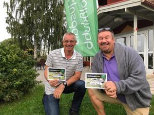 Från vänster: Kennet Lind, Lars Hast   Foto: Ulf Norrby