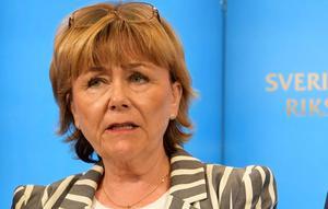 Förra justitieministern Beatrice Ask (M). Foto: Anders Wiklund