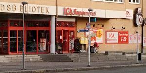 Ica Kryddan höll stängt när det var strömavbrott i Norrtälje på torsdagsmorgonen.