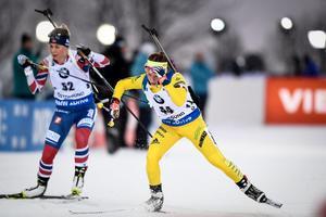 Anna Magnusson var bästa svenska under söndagen. Bild: TT